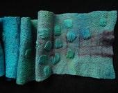 Beautiful shibori dyed scarf
