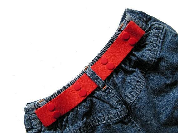 SALE Toddler Belt - Elastic Snap Belt