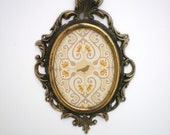 Small Antique Brass Frame