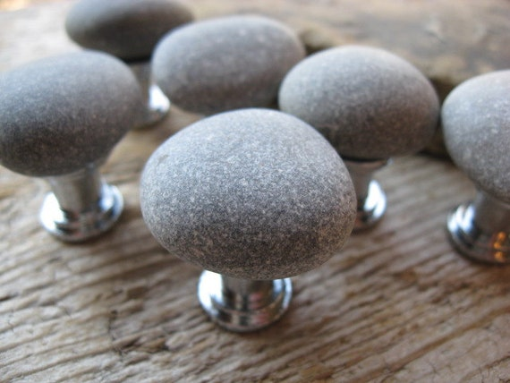 NATURAL Beach Stone Cabinet KNOBS