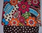 Girl's Retro Bright Floral Small Hip Bag