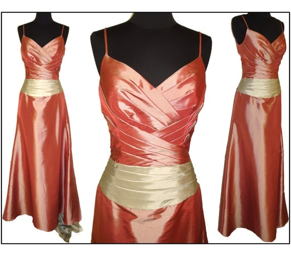 Vintage Red 1950s Style Shelf Bust Dress Gown Designer Evening Formal Wedding Prom Cocktail Garden Party Hollywood Mad Man Rockabilly Pinup