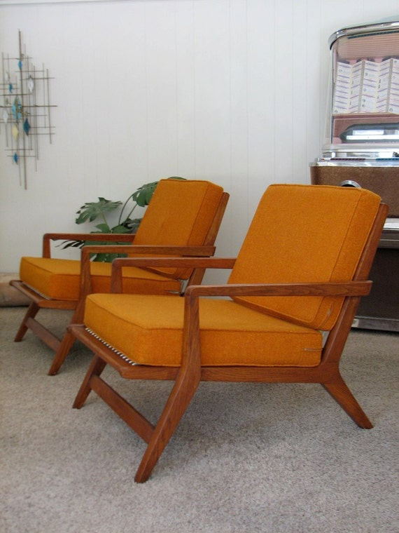 Vintage Furniture, Modern Interior Decorating with Chairs ...   Retro Modern Recliners