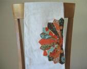 Custom Listing for Colleen- 2 Custom Flour Sack Tea Towels