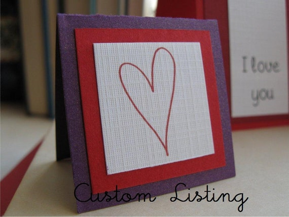 Custom Listing for CraftyMothers