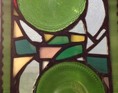 Abstract Pieces - Recycled Glass Panel