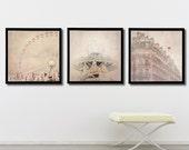 """Paris print set , Paris gallery art prints, Fine Art photography of Paris, Paris photography, """"A Paris Dream"""""""