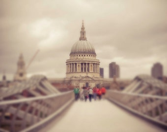 St. Paul's Cathedral Photograph, London - New Millenium