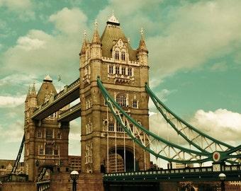 "Tower Bridge Photograph, London - Iconic London - Fine Art Photography - ""Iconic London"""