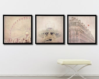 "Paris print set , Paris gallery art prints, Fine Art photography of Paris, Paris photography, ""A Paris Dream"""