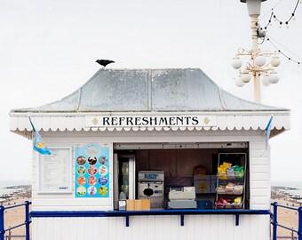 "SALE: 25% Off Beach photography, travel art print, large photography, Beach Art Print - ""A Day At The Beach"""