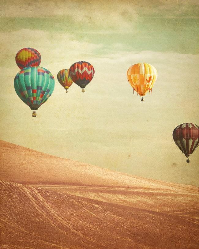 Hot Air Balloon Photography Wanderers Fine Art Photograph