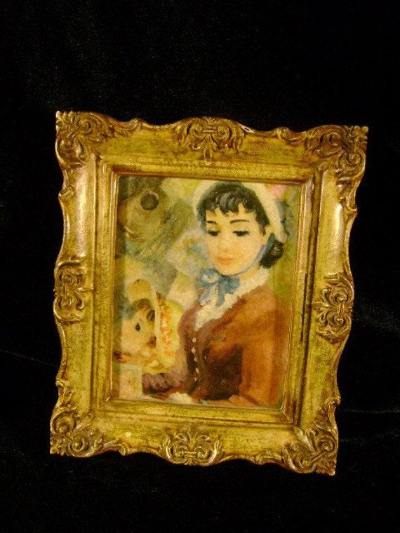 Framed Art Mother and Daughter