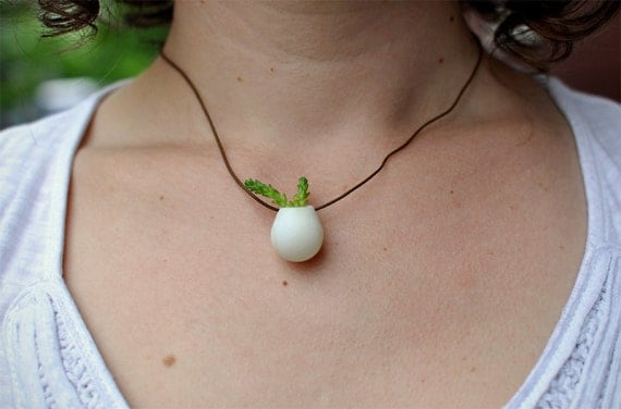 A Miniature Wearable Planter