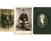 IMMIGRANTS Collection | Original Old Photos | Ethnic Costume | Vintage Hats, Mutton Chops and Mustaches
