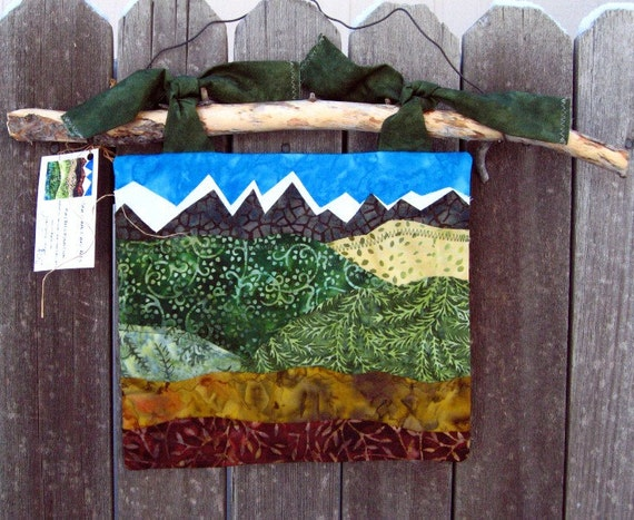 """Fall Applique Wall Hanging - 9"""" x 10"""""""