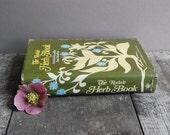 Vintage Herb Book