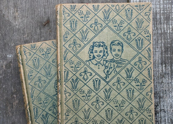 Vintage 1938 & 1941 Bobbsey Twins Books