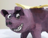 Mini Papier Mache Flying Pig