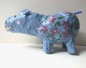 Folk Art Hippo