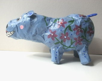 Folk Art Hippo