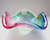 Murano Glass Bowl Made in Italy