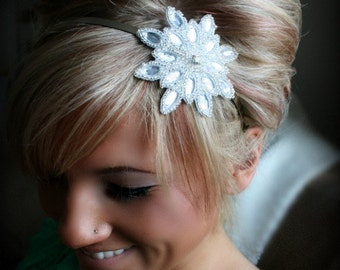 Starry Eyed Rhinestone Headband, Bridal Headband, Wedding Accessories, bridal hair accessories