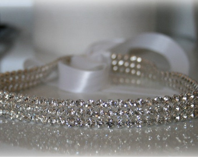 Bridal Headband- SPARKLE, Wedding Head Band, Headband, Accessories, Bridal, Wedding, Hair Accessory, Bridal Head Band