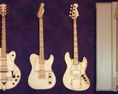 Set of Four Western Swing Music Magnets (MU-WS4)