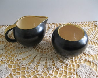 Vintage Villeroy & Boch Creamer and Sugar Luxembourg - FL