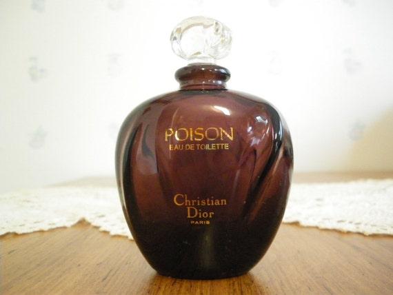 Vintage Poison Perfume Bottle