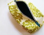 eco friendly COSMETIC POUCH from upcycled upholstery swatches