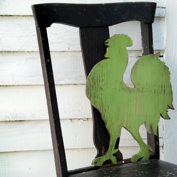 Rooster Wood Sign Rooster Decor Country Decor Wooden Wall Art