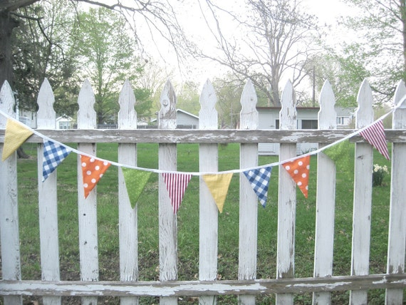 Colorful Birthday Party Banner-Red, Blue, Green, Yellow, Orange-Perfect for Girls or Boys
