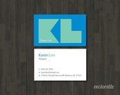 Personalized Business Cards DELIMA 1 Box