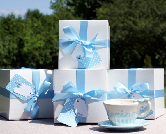 Personalized Tea Cups with Gift Box