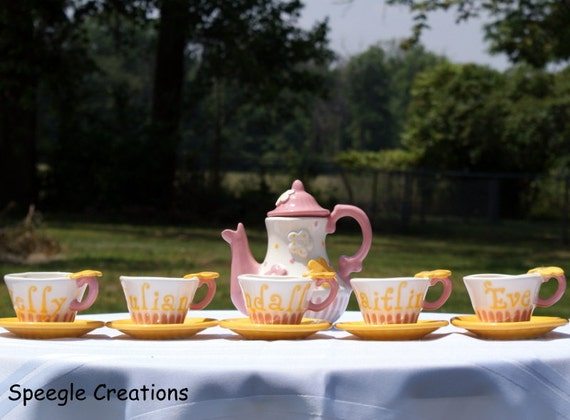 Sunny Day Tea set for 5