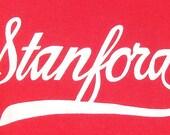 Vintage 80's Stanford t shirt L