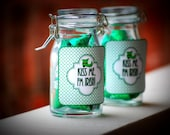 St. Patricks Day Treat Bag and Favor Label