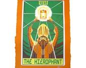 """Robo Tarot: Major Arcana v1 """"The Hierophant"""" print"""