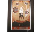 """Robo Tarot: Major Arcana v2 """"The Chariot"""" print"""