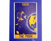 """Robo Tarot: Major Arcana v5 """"The Moon"""" print"""