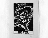 "Robo Tarot: Major Arcana v6 ""The Fool version 3"" print"