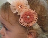 SALE, Baby Headband, Baby Bow, Flower Headband, Flower Bow, Infant Headband, Infant Bow, Girls Headband, Girls Bow, Flower Clip, Hair Clip