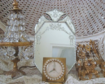 Charming Antique Mirror - a Rare Find