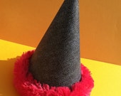 CLEARANCE Blue Jean Party Hat