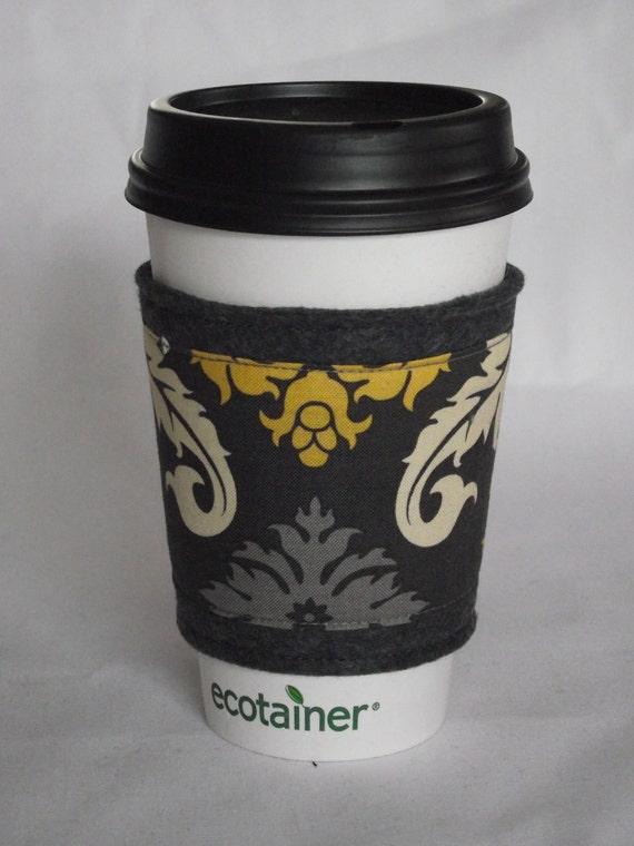 Felt Coffee Cozy / Sleeve