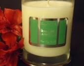 Green Tea & Lemongrass Pure SOY Candle
