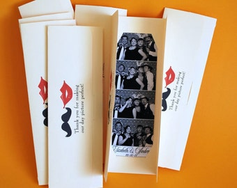 Lips and Mustache Photobooth  Party Favor