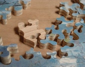 Custom Hand-Cut, Wooden Jigsaw Puzzle - 100 Pieces